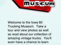 Iowa 80 Trucking Museum.
