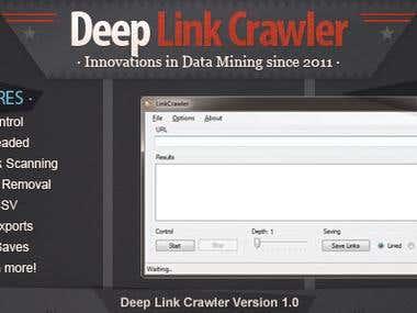Deep Link Crawler