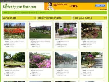 Garden by home
