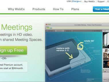 Webex.com CMS Administrator & Web Developer