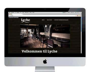 website for a restaurant
