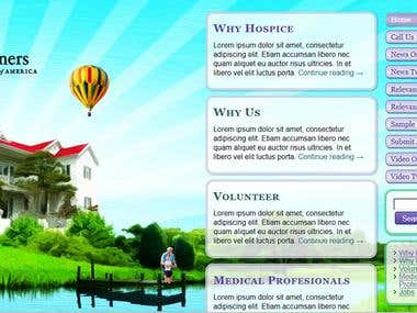 Web Design / Programming Hospice Partners