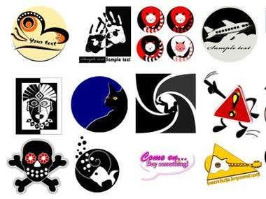 Set of my sample logos
