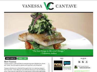 Personal blog of Vanessa Cantave