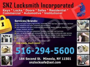 for locksmith design