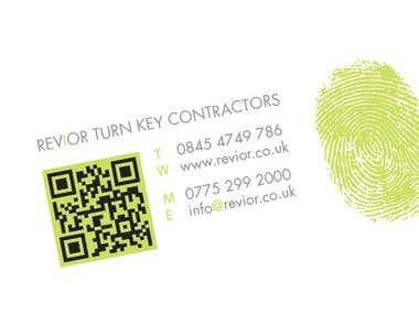 Revior Business Card Design