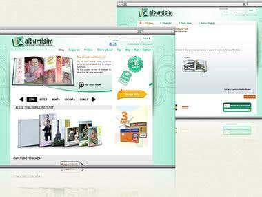 Albumisim - digital to print service