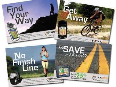 Action GPS Postcards