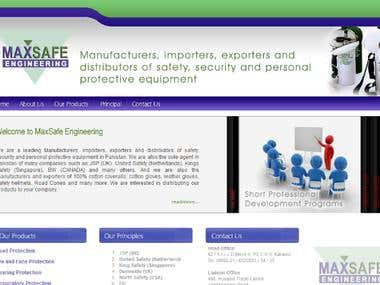 Max Safe Group - Website