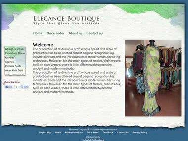 Boutique Website
