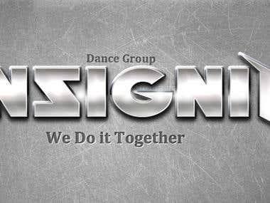 Banner design for a Dance Group