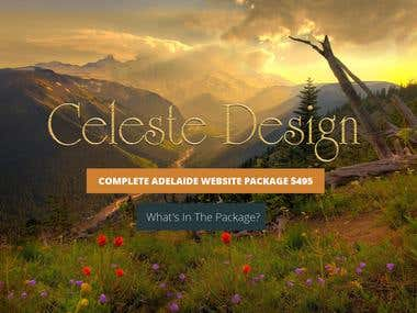 Celeste Morrison Website HomePage Edit