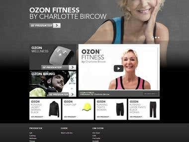 Sports Wear Responsive website