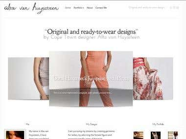 Alta van Huyssteen Fashion Designer