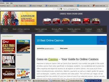 Redesign Wordpress Homepage