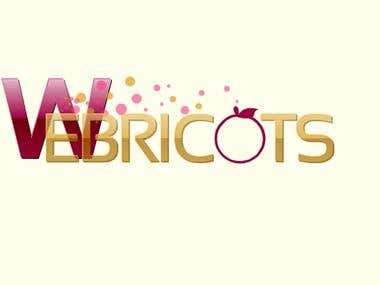 Webricots Corporation Logo design sample