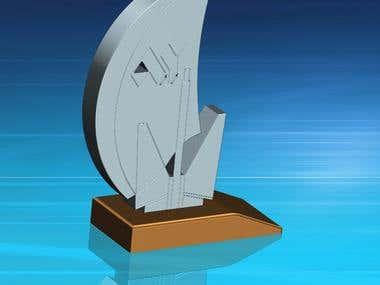 Darts Sport Trophy
