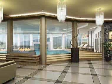 SPA lobby design