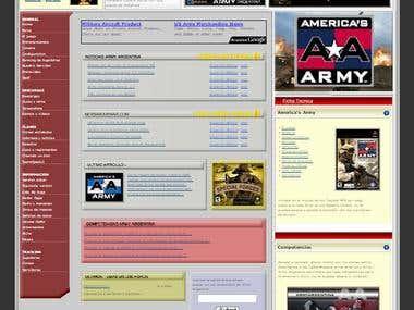 Americas Army Game Site