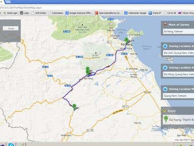 Google Maps API v3 Advance