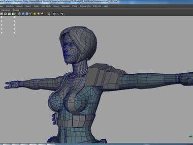 3D Modeling Organic & Inorganic.