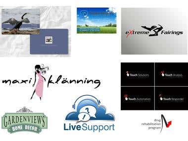 Logos and Cards