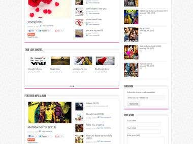 TechMadz Entertainment Website