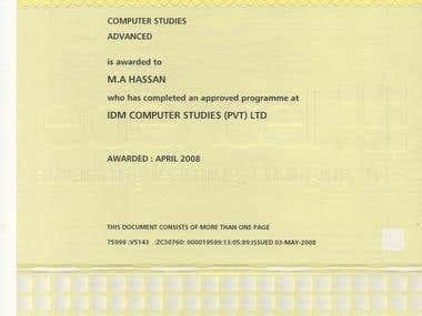 BTEC Diploma in ICT