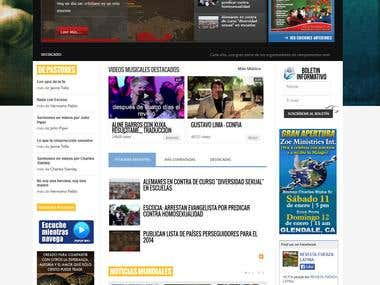 Newscast website