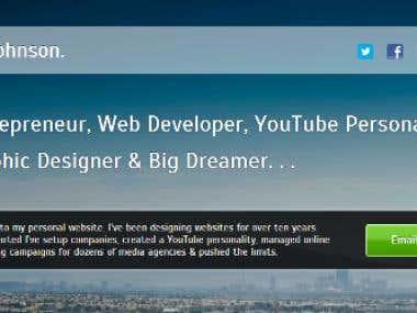 Personal Site Design