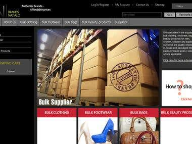 Brands Natialo - Opencart Website