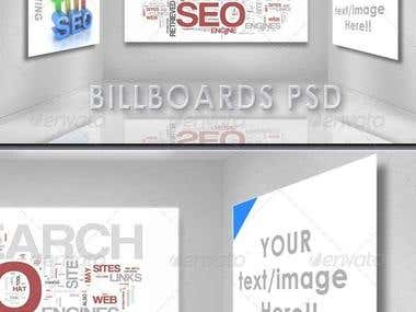 Business Billboards PSD