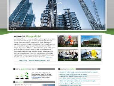 Apave Website Design