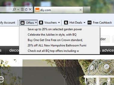 ILoveCashback Toolbar For Internet Explorer