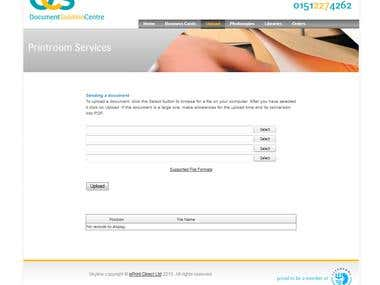 online printing portal