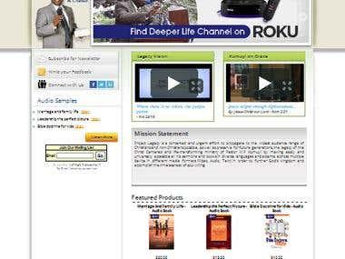 Joomla Website: http://deeperlifetoday.org/