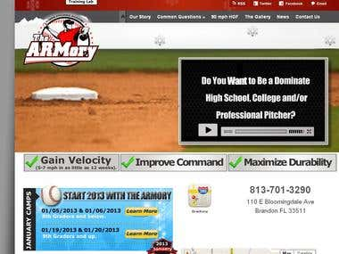 Armorypitching wordpress theme development