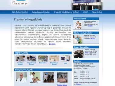 Rehabilitation Center Webpage