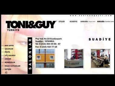 Worldwide known hair designer Website
