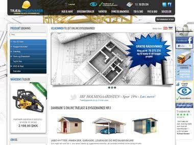 Danish construction tools and supplies webshop