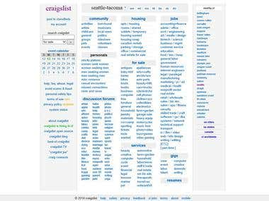 Craigslist posting services