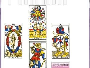 Flash app tarot cards