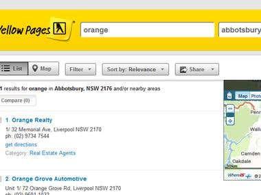 Yellowpages Australia - Scraper