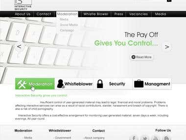website for IS security systems