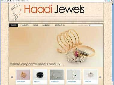 Haadi Jewels Website