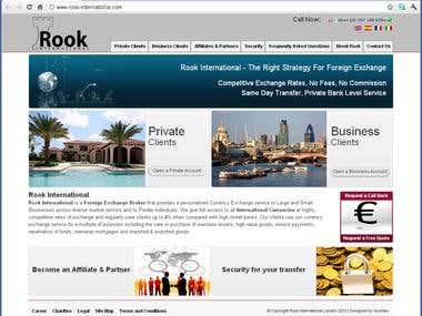 Rook International Website