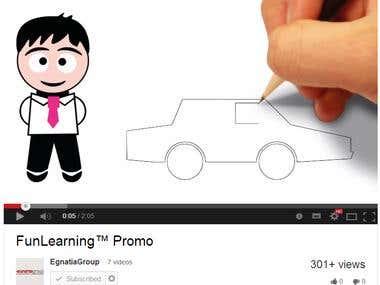 Whiteboard Animation/ Videoscribe