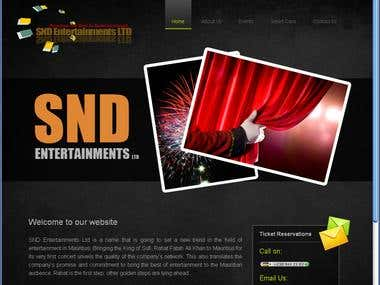 SND Entertainment Events