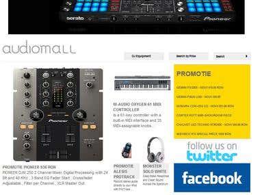Audiomall eshop