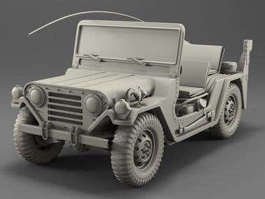 American Jeep M151